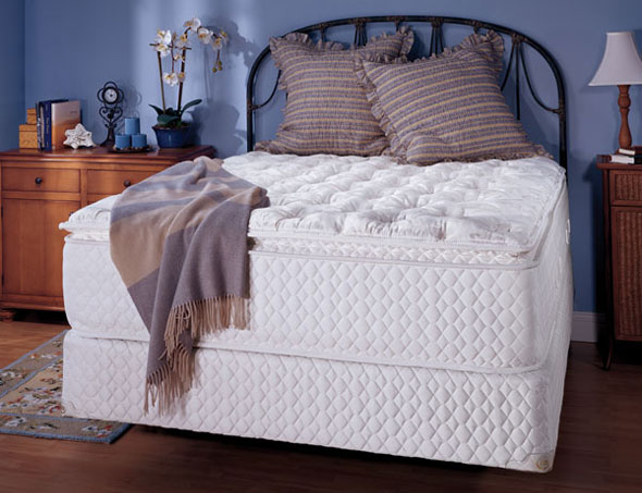 "Low Price DreamDNA Twin 10 Inch Thick AmericanMade Mattress With 4"" Gel Infused Visco Elastic Memory Foam"