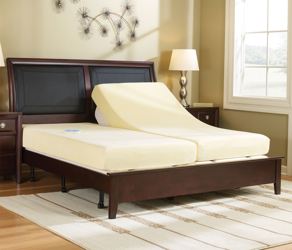 Sleep number adjustable beds amerisleep adjustable bed for Sleep by number mattress
